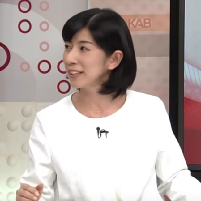 舩津真弓キャスター(KAB熊本朝日放送)