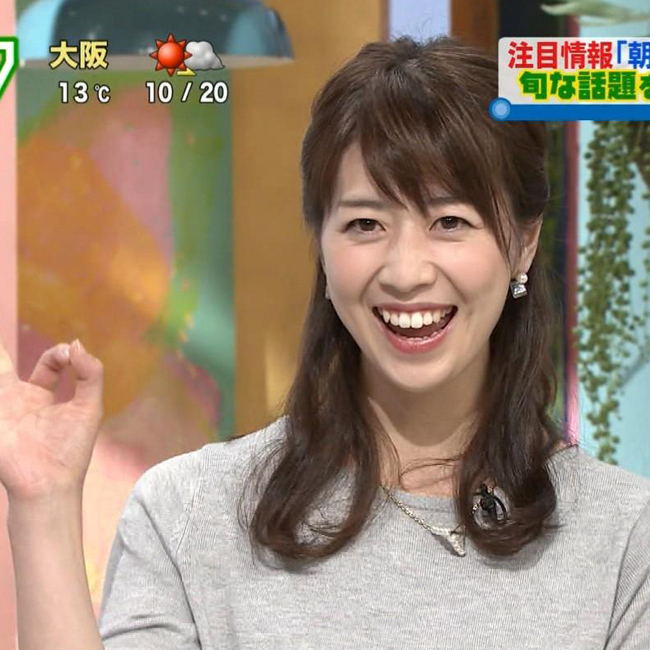 虎谷温子アナ(よみうりテレビ)