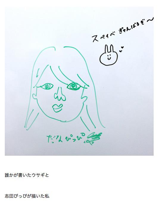 志田ぴっぴによるだなぴっぴ