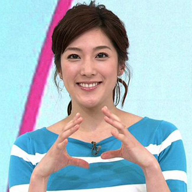 NHKの上原光紀アナウンサー(ギュギュッと)