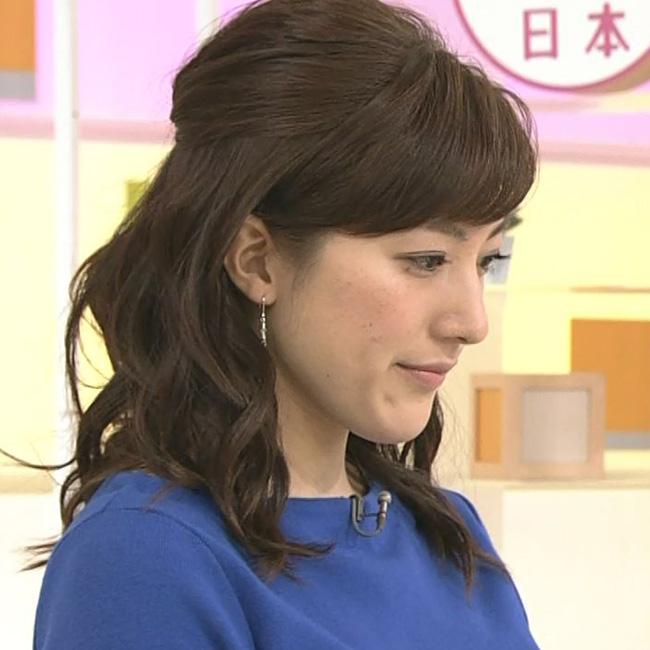 NHKの上原光紀アナウンサー(おはよう日本)