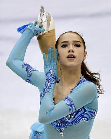 アリーナ・ザギトワ選手(ロシア)