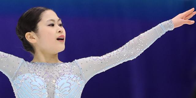 宮原知子(グランプリシリーズ2017・NHK杯)