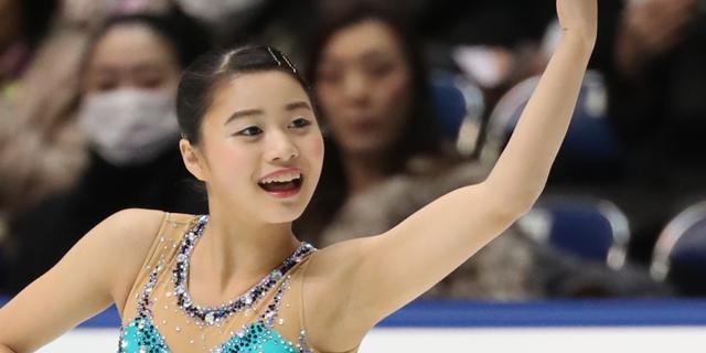 白岩優奈(グランプリシリーズ2017・NHK杯)