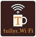 タリーズコーヒーのフリーwifiマーク