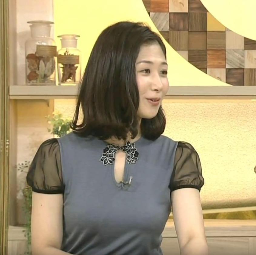 桑子真帆アナの衣装(6月17日のニュースウォッチ9)